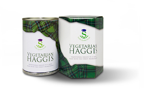 vegetarian and vegan haggis