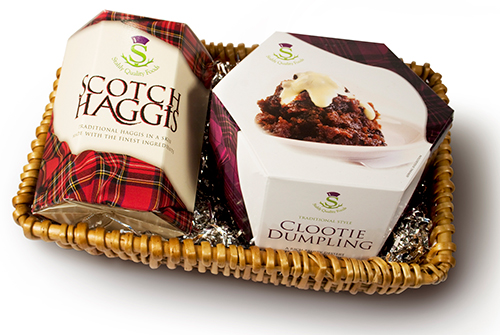 scotch haggis and clootie dumpling
