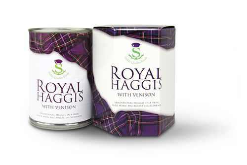 scotch royal haggis with venison